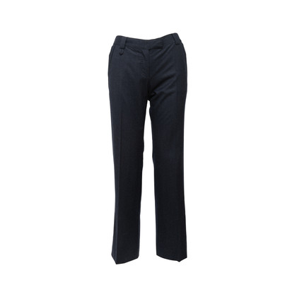 Authentic Second Hand Stella McCartney Navy Wool Pants (PSS-816-00007)