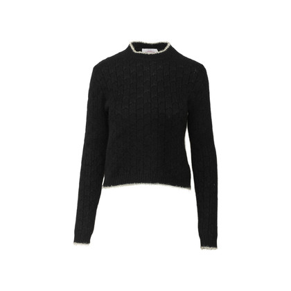 Authentic Second Hand Armani Jeans Cable Knit Sweater (PSS-764-00022)