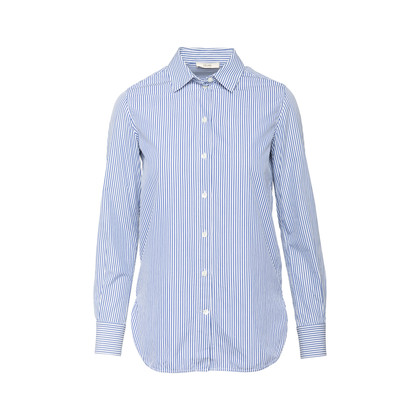 Authentic Second Hand Céline Pinstriped Shirt (PSS-816-00008)
