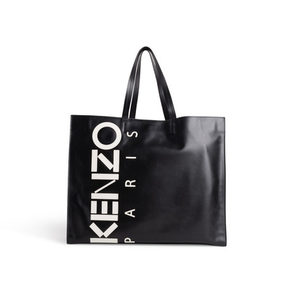 Authentic Second Hand Kenzo Logo Tote Bag (PSS-994-00004)