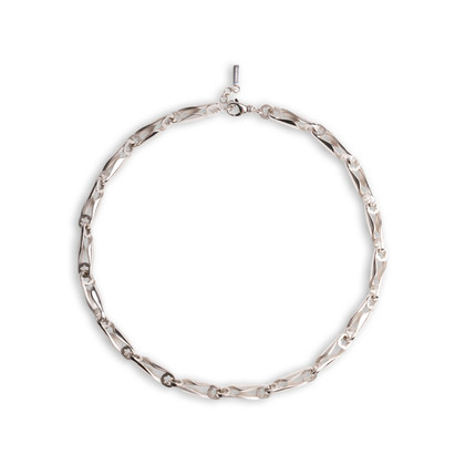 Authentic Second Hand Montblanc Chainlink Necklace (PSS-099-00114)
