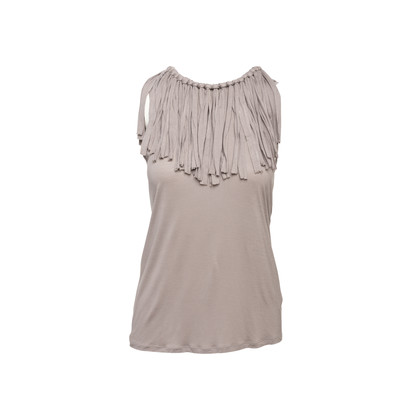 Authentic Second Hand Lanvin Fringed Tank (PSS-097-00826)