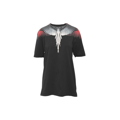 Authentic Second Hand Marcelo Burlon Wings Print T-Shirt (PSS-941-00014)