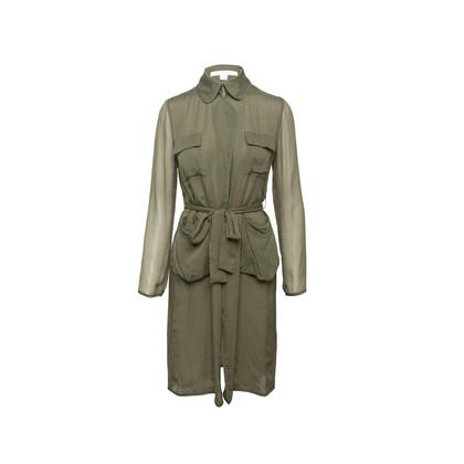 Authentic Second Hand Diane Von Furstenberg Blaine Silk Outerwear (PSS-059-00077)