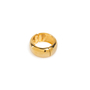 Authentic Second Hand Kenneth Jay Lane Wide Gold Bangle (PSS-356-00170) - Thumbnail 1