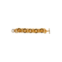 Authentic Second Hand Kenneth Jay Lane Chain Link Bracelet (PSS-356-00181) - Thumbnail 2