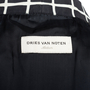 Authentic Second Hand Dries Van Noten Checked Outerwear (PSS-067-00227) - Thumbnail 4