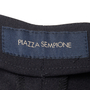 Authentic Second Hand Piazza Sempione Wool Trousers (PSS-067-00235) - Thumbnail 2