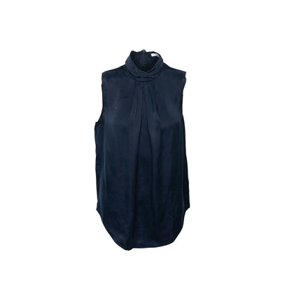 Authentic Second Hand Carven High Neck Sleeveless Blouse (PSS-067-00266)