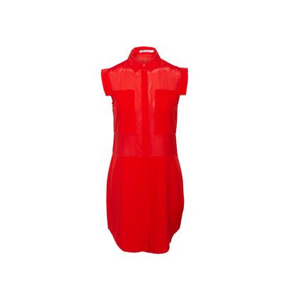 Authentic Second Hand T by Alexander Wang Sheer Insert Sleeveless Dress (PSS-067-00267)