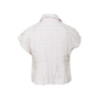 Authentic Second Hand Chanel Embroidered Stripe Top (PSS-067-00270) - Thumbnail 1