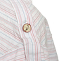 Authentic Second Hand Chanel Embroidered Stripe Top (PSS-067-00270) - Thumbnail 2