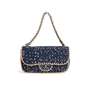Authentic Second Hand Chanel Tweed Flap Shoulder Bag (PSS-990-00093) - Thumbnail 0