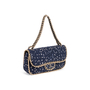 Authentic Second Hand Chanel Tweed Flap Shoulder Bag (PSS-990-00093) - Thumbnail 1