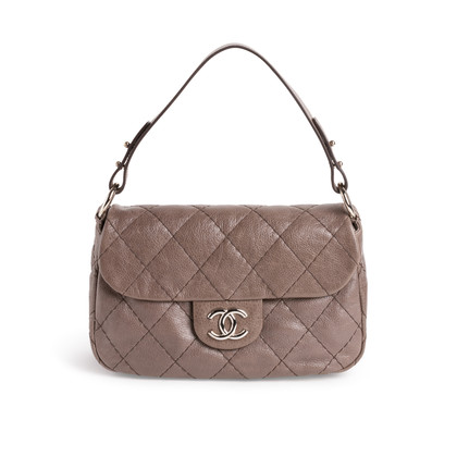 Authentic Second Hand Chanel On the Road Flap Bag (PSS-990-00103)