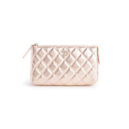 Authentic Second Hand Chanel Cosmetic Pouch (PSS-990-00098)