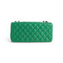 Authentic Second Hand Chanel Perforated East West Flap Bag (PSS-990-00107) - Thumbnail 2