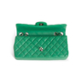 Authentic Second Hand Chanel Perforated East West Flap Bag (PSS-990-00107) - Thumbnail 5