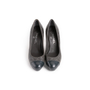 Authentic Second Hand Chanel Quilted Cap Toe Pumps (PSS-A09-00002) - Thumbnail 0
