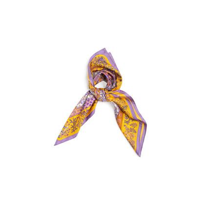 Authentic Second Hand Hermès Piqué Fleuri de Provence Scarf (PSS-A09-00019)
