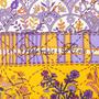 Authentic Second Hand Hermès Piqué Fleuri de Provence Scarf (PSS-A09-00019) - Thumbnail 3