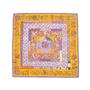 Authentic Second Hand Hermès Piqué Fleuri de Provence Scarf (PSS-A09-00019) - Thumbnail 1
