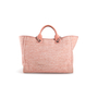 Authentic Second Hand Chanel Deauville Canvas Tote (PSS-097-00868) - Thumbnail 2