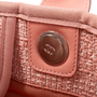Authentic Second Hand Chanel Deauville Canvas Tote (PSS-097-00868) - Thumbnail 7