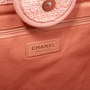 Authentic Second Hand Chanel Deauville Canvas Tote (PSS-097-00868) - Thumbnail 8