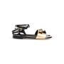 Authentic Second Hand Fendi Pyramid Stud Sandals  (PSS-990-00130) - Thumbnail 1
