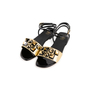 Authentic Second Hand Fendi Pyramid Stud Sandals  (PSS-990-00130) - Thumbnail 3