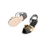 Authentic Second Hand Fendi Pyramid Stud Sandals  (PSS-990-00130) - Thumbnail 4