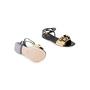 Authentic Second Hand Fendi Pyramid Stud Sandals  (PSS-990-00130) - Thumbnail 5