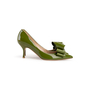 Authentic Second Hand Valentino Bow Patent Pumps (PSS-990-00134) - Thumbnail 1