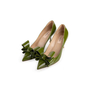 Authentic Second Hand Valentino Bow Patent Pumps (PSS-990-00134) - Thumbnail 3