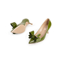 Authentic Second Hand Valentino Bow Patent Pumps (PSS-990-00134) - Thumbnail 4