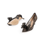 Authentic Second Hand Valentino Lace Bow Pumps (PSS-990-00137) - Thumbnail 4