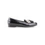 Authentic Second Hand Balenciaga Metallic Stud Tassel Loafers (PSS-A02-00001) - Thumbnail 1