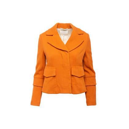 Authentic Second Hand 3.1 Phillip Lim Burnt Orange Wool Coat  (PSS-A02-00014)
