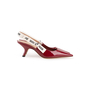 Authentic Second Hand Christian Dior J'Adior Patent Slingback Pumps (PSS-990-00140) - Thumbnail 1