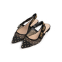 Authentic Second Hand Christian Dior J'Adior Dotted Swiss Flats (PSS-990-00141) - Thumbnail 3