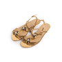 Authentic Second Hand Gucci Tiger Head Chain Sandals (PSS-990-00150) - Thumbnail 3