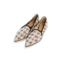 Authentic Second Hand Nicholas Kirkwood Alona Houndstooth Lace Loafers (PSS-990-00154) - Thumbnail 3