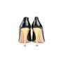 Authentic Second Hand Rupert Sanderson Patent Peep Toe Pumps (PSS-990-00157) - Thumbnail 2