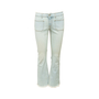 Authentic Second Hand Stella McCartney Frayed Denim Jeans (PSS-097-00885) - Thumbnail 0