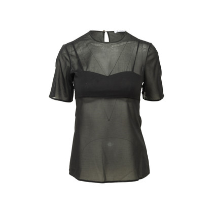 Authentic Second Hand T by Alexander Wang Sheer Top (PSS-313-00066)