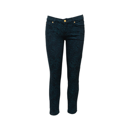 Authentic Second Hand 7 for all Mankind Embroidered Pattern Jeans (PSS-A06-00008)