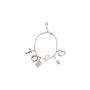 Authentic Second Hand Christian Dior Logo Charm Bracelet (PSS-A12-00019) - Thumbnail 1