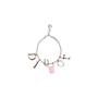 Authentic Second Hand Christian Dior Logo Charm Bracelet (PSS-A12-00019) - Thumbnail 0