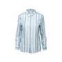 Authentic Second Hand Hermès Pattern Stripe Silk Shirt (PSS-990-00191) - Thumbnail 0